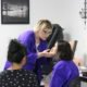 Eye shadow application | beauty academy in Marietta, OH | Preston's Beauty Academy