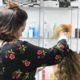 stylist practicing on hair | beauty academy in Marietta, OH | Preston's Beauty Academy